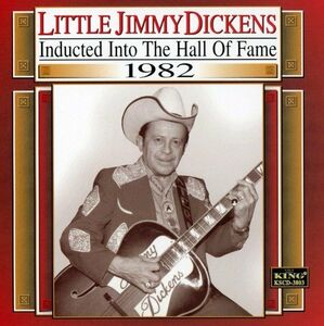 Foto Cover di Country Music Hall of Fame, CD di Little Jimmy Dickens, prodotto da King