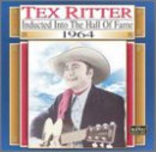 Foto Cover di Country Music Hall of Fame, CD di Tex Ritter, prodotto da King