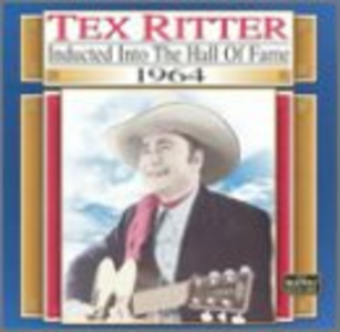 CD Country Music Hall of Fame di Tex Ritter