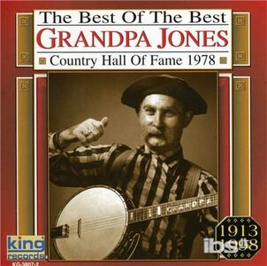 CD Country Music Hall of Fame di Grandpa Jones