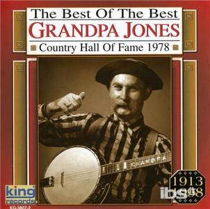 CD Country Music Hall of Fame di Grandpa Jones
