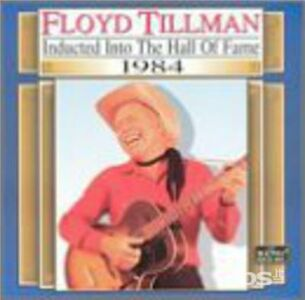 CD Country Music Hall of Fame di Floyd Tillman
