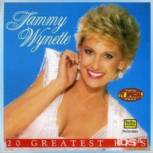 Foto Cover di 20 Greatest Hits, CD di Tammy Wynette, prodotto da Tee Vee