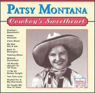 Foto Cover di Cowboy's Sweetheart, CD di Patsy Montana, prodotto da King