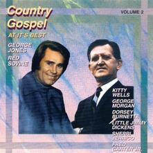 Country Gospel At It's Best 2 - CD Audio