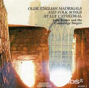CD Olde English Madrigals & di John Rutter