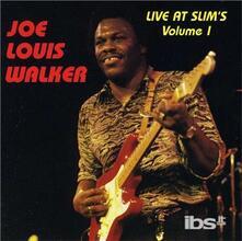 Vol. 1-Live At Slim's - CD Audio di Joe Louis Walker