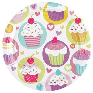 Piatti 18 Cm. Cupcake 8 pezzi - 2