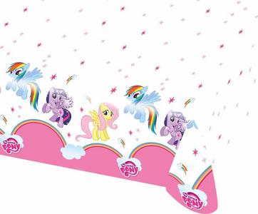Idee regalo My Little Pony. Rainbow. Tovaglia Plastica 120x180 Cm Giocoplast