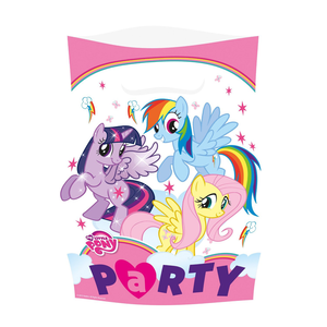 Idee regalo My Little Pony. Rainbow. 8 Sacchettini Giocoplast