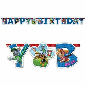 Paw Patrol. Scritta Happy Birthday - 2