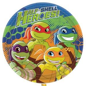 Half Shell Heroes. 8 Piatti 23 Cm
