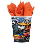 Idee regalo Blaze. 8 Bicchieri Plastica 200 Ml Import