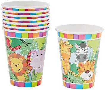 Jungle. 8 Bicchieri 200Ml