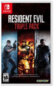 Capcom Resident Evil Triple Pack, Switch videogioco Nintendo Switch Antologia Multilingua