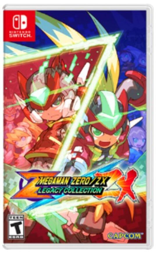 Capcom Mega Man Zero/ZX Legacy Collection Nintendo Switch Collezione Multilingua