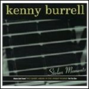 CD Stolen Moments di Kenny Burrell