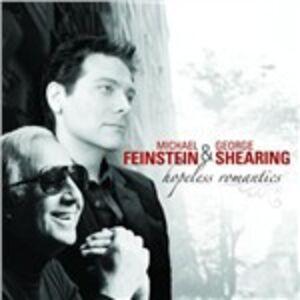 Foto Cover di Hopeless Romantics, CD di George Shearing,Michael Feinstein, prodotto da Concord
