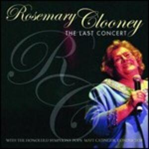 CD Last Concert di Rosemary Clooney