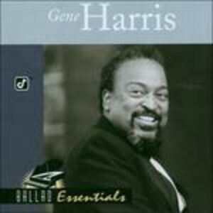 CD Ballad Essentials di Gene Harris 0