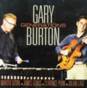 Generations - CD Audio di Gary Burton