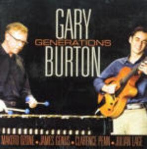 CD Generations di Gary Burton