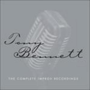 CD Complete Improv Recording di Tony Bennett