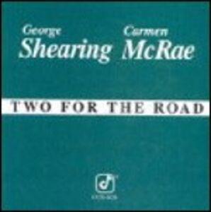 Foto Cover di Two for the Road, CD di George Shearing,Carmen McRae, prodotto da Concord