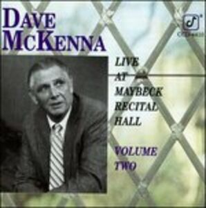 CD Live at Maybeck vol.2 di Dave McKenna