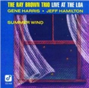 CD Summer Wind. Live at the Loa di Ray Brown (Trio)