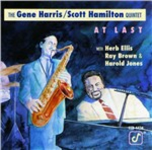CD At Last Gene Harris , Scott Hamilton