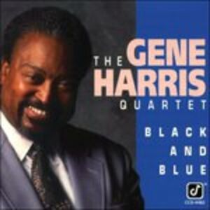 CD Black & Blue di Gene Harris (Quartet)