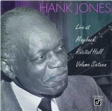 Live at Maybeck Recital Hall vol.16 - CD Audio di Hank Jones