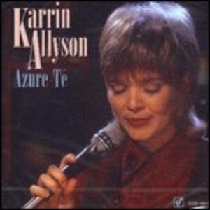Foto Cover di Azure-Té, CD di Karrin Allyson, prodotto da Concord