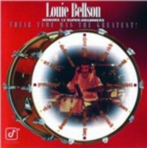 CD Honors 12 Super-Drummers di Louie Bellson (Big Band)