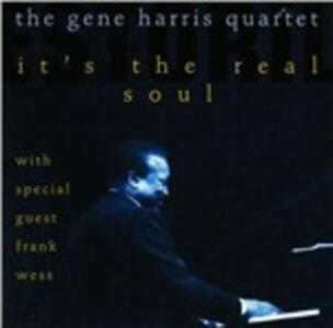 It's the Real Soul - CD Audio di Gene Harris