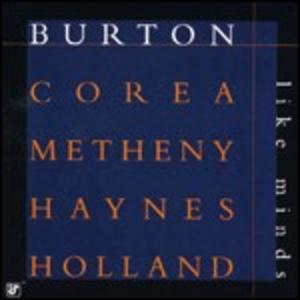 CD Like Minds Chick Corea , Pat Metheny , Gary Burton , Roy Haynes , Dave Holland
