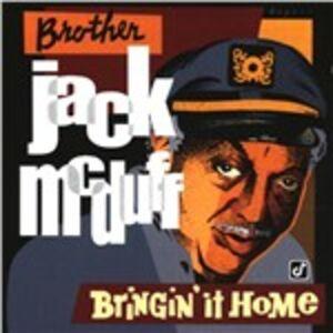 CD Bringin' It Home di Jack McDuff