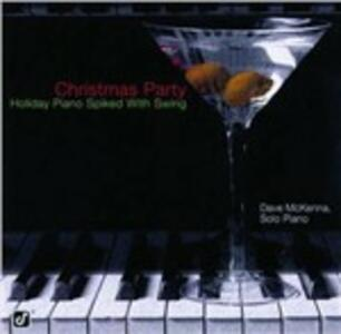 Christmas Party. Holiday Piano Spiked with Swing - CD Audio di Dave McKenna