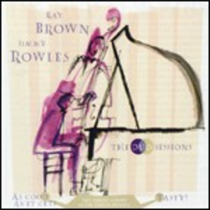 CD The Duo Session Ray Brown , Jimmy Rowles