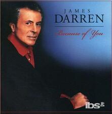 Because Of You - CD Audio di James Darren