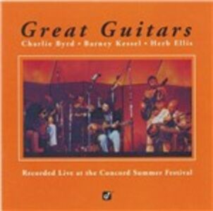 CD Great Guitars Barney Kessel , Charlie Byrd , Herb Ellis