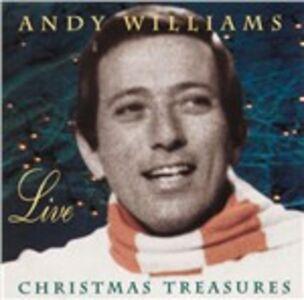 CD Live - Christmas Treasures di Andy Williams