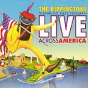 CD Live Across America di Rippingtons