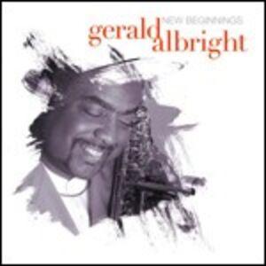 CD New Beginnings di Gerald Albright