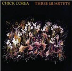CD Three Quartets di Chick Corea