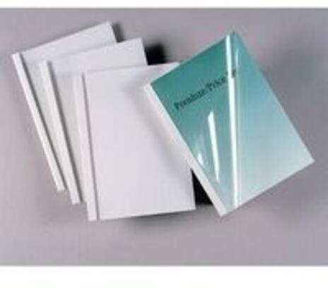 GBC Copertine per rilegatura termica Standard 1,5mm bianche(100)