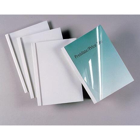 GBC Copertine per rilegatura termica Standard 1,5mm bianche(100) - 3