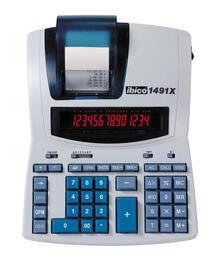 Rexel Ibico1491X Calcolatrice Scrivente Professionale - Bianco/Blu