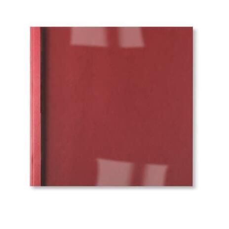 GBC Copertine rilegatura termica LeatherGrain 1,5 mm rosse (100) - 2